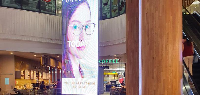 LED advertising panel